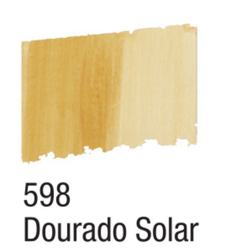 Betume Colors 60ml 598 Dourado Solar - Acrilex