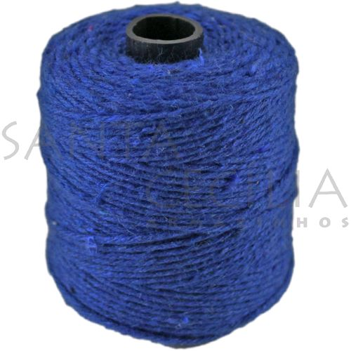 Barbante Azul 1,5mm - rolo com 82m