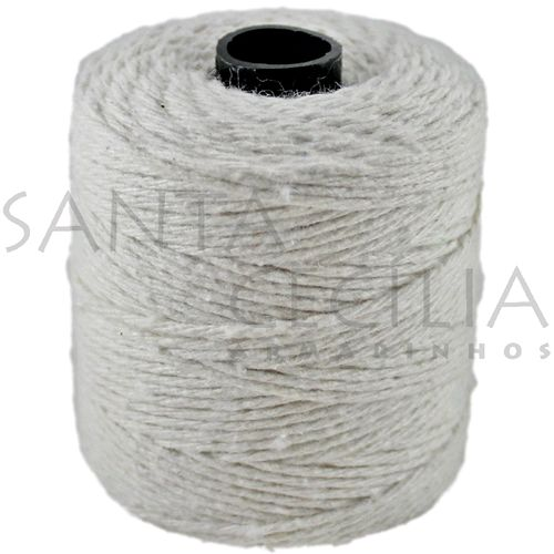 Barbante cor Natural 1,5mm - rolo com 82m