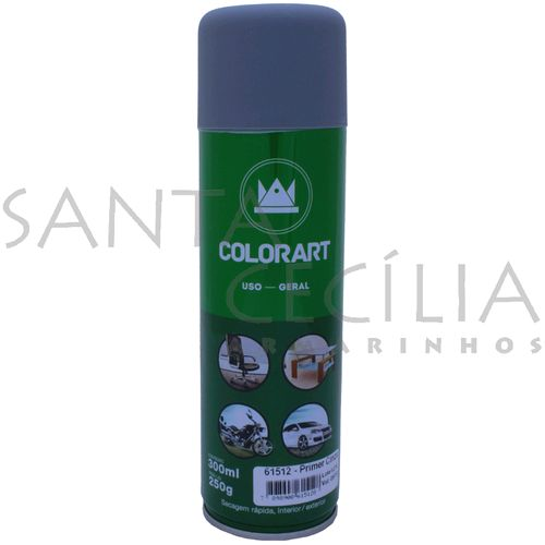 Tinta Spray Colorart Uso Geral 300ml - Primer Cinza