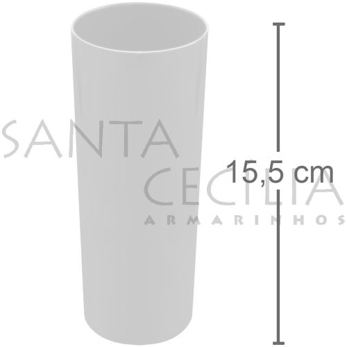 Copo Long Drink 350ml - Branco