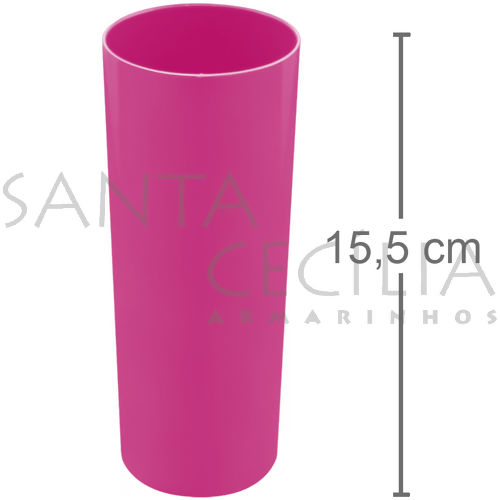 Copo Long Drink 350ml - Pink