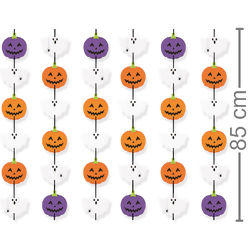 Cortina Decorativa Halloween - Doces ou Travessuras Ref. 23012164
