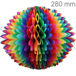 Bola Pom Pom 280mm - Ref. 174 - Colorida Mesclada