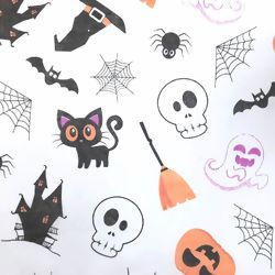 T.N.T. Estampado - Happy Halloween Branco