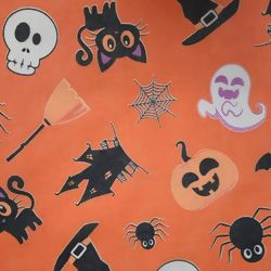 T.N.T. Estampado - Happy Halloween Laranja