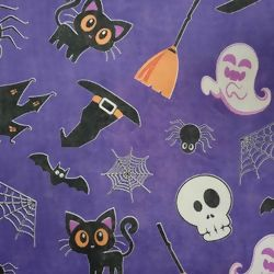 T.N.T. Estampado - Happy Halloween Roxo