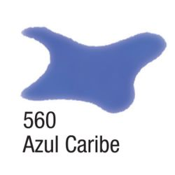 Tinta Aquarela Silk 60 ML 560 Azul Caribe