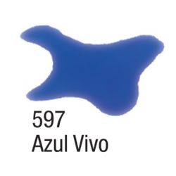 Tinta Aquarela Silk 60 ML 597 Azul Vivo