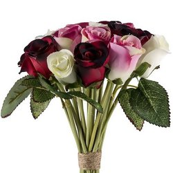 Bouquet de Flores Artificiais 8095 - Cores