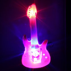 Broche Guitarra Luminoso