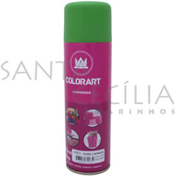 Tinta Spray Colorart Luminoso 300ml - Verde