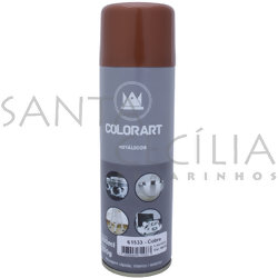 Tinta Spray Colorart Metálicos 300ml - Cobre