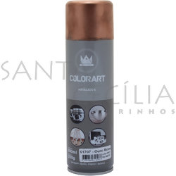 Tinta Spray Colorart Metálicos 300ml - Ouro Rose