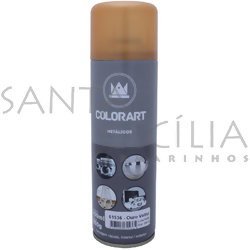 Tinta Spray Colorart Metálicos 300ml - Ouro Velho