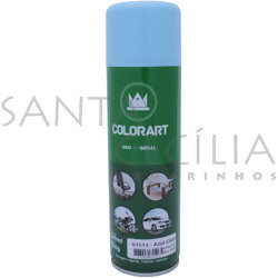 Tinta Spray Colorart Uso Geral 300ml - Azul Claro