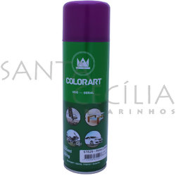 Tinta Spray Colorart Uso Geral 300ml - Roxo