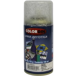 Colorgin Spray Glitter 150ml.