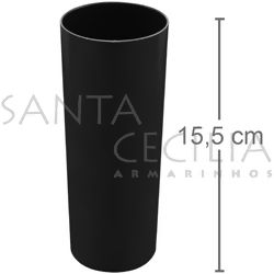 Copo Long Drink 350ml - Preto