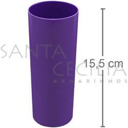 Copo Long Drink 350ml - Roxo
