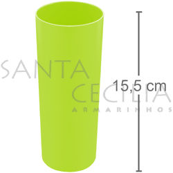 Copo Long Drink 350ml - Verde Neon