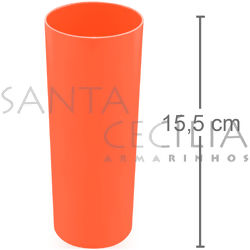 Copo Long Drink 350ml - Laranja