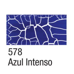 Craquelex Color 37 ml - 578 Azul Intenso - Acrilex