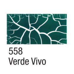 Craquelex Color 37 ml - 558 Verde Vivo - Acrilex