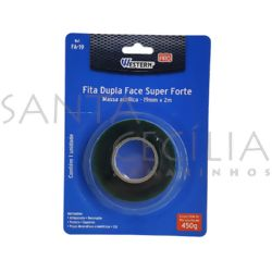 Fita Dupla Face Super Forte FA-19 - 19mm x 2m