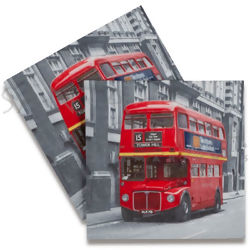 Guardanapo de Papel Decoupage 20 unid. Red Bus LN0695