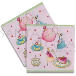 Guardanapo de Papel Decoupage 20 unid. Little Tea Party LN0866