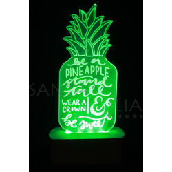 Luminoso LED - Abacaxi Verde CM7934