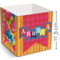 Cachepot Decorativo 8 unid. - Arraial Junino Ref. 23011389