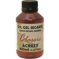Oil Gel Secante 100ml - Acrilex